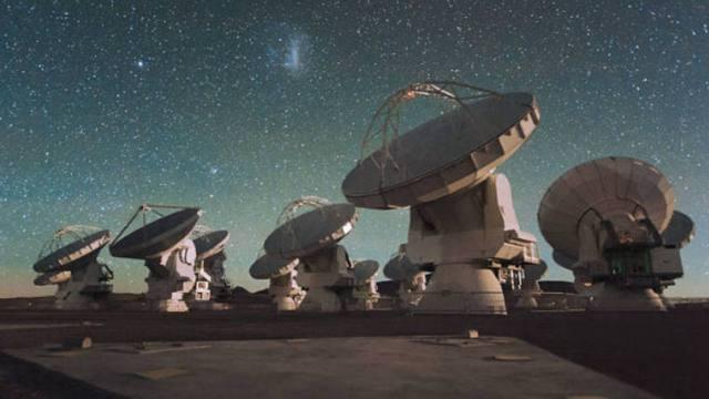 As antenas do Observatório ALMA. Foto de exame.abril.com.br
