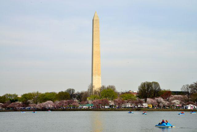 Monumento a Washington, o Obelisco da cidade.