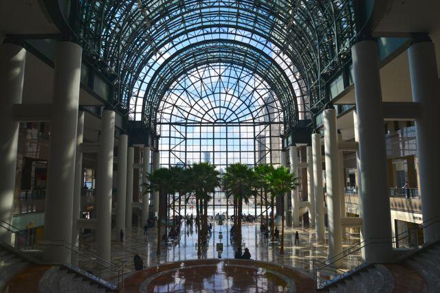 O Winter Garden do World Financial Center