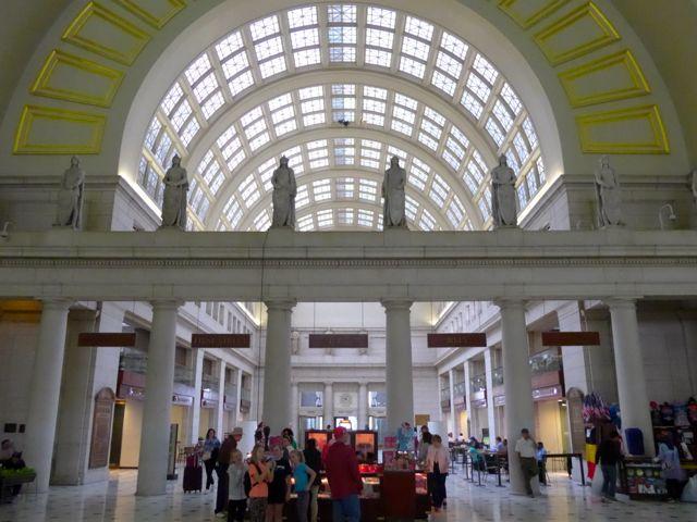 Detalhe do interior da Union Station