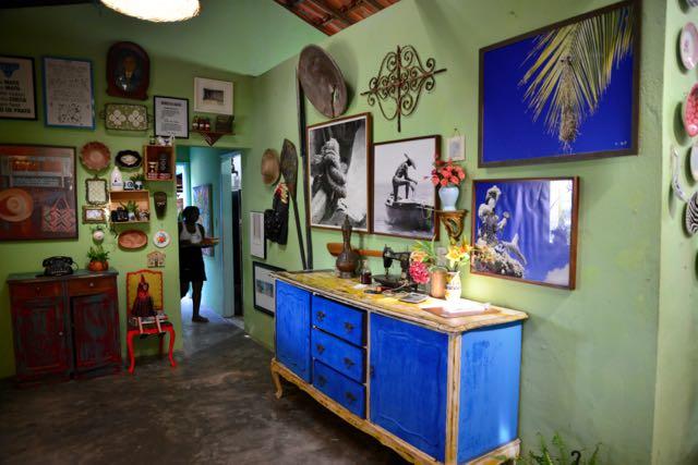 O excelente restaurante de Preta, em Botelho, na Ilha de Maré.