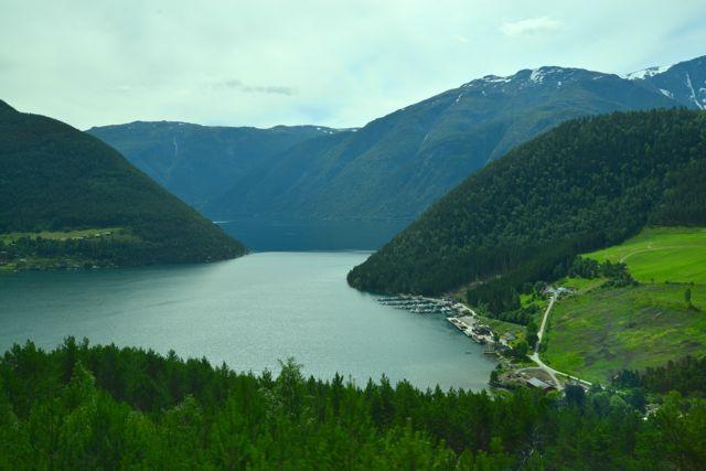 Os fiordes da Noruega estavam entre os destinos da viagem.