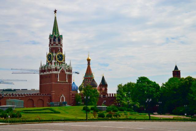 O interior do Kremlin