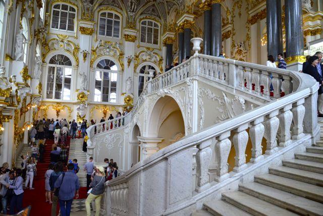 A maravilhosa Escadaria Jordana