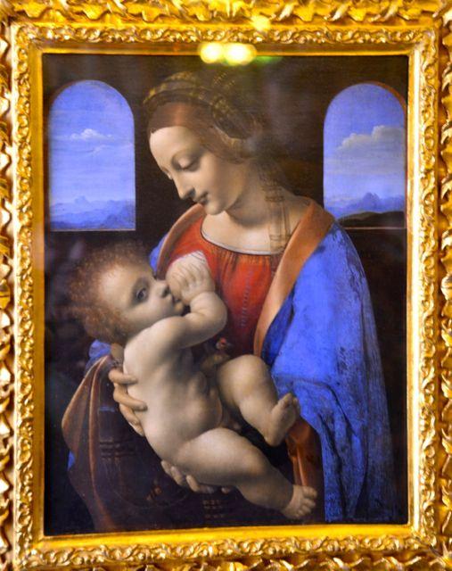Uma das Madonnas De Leonardo