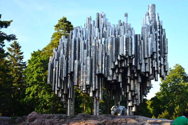 O Monumento a Sibelius