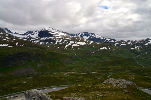 A Cordilheira dos Alpes Escandinavos separa a Suécia da Noruega