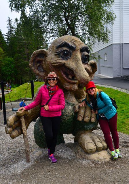 Encontramos um Troll em Bergen.