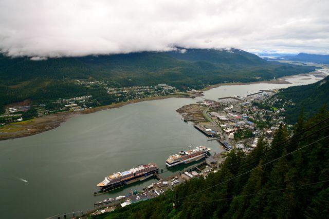 Juneau, uma das paradas do cruzeiro. - Joaquim Nery