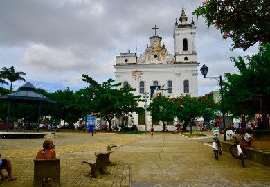 O bairro de Santo Antônio Além do Carmo