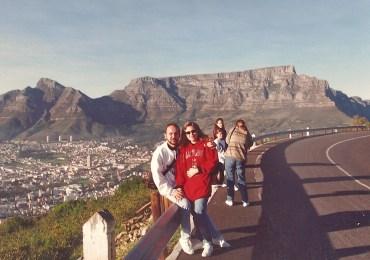 A primeira viagem à África