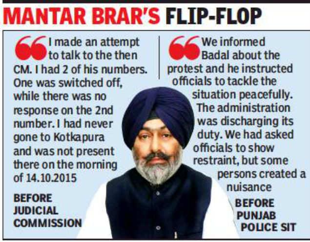 ex mla mantar singh brar made accused in kotkapura firing case