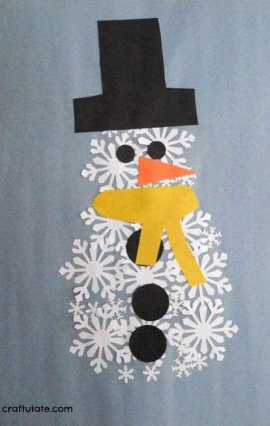 رجل الثلج من الثلج للأطفال