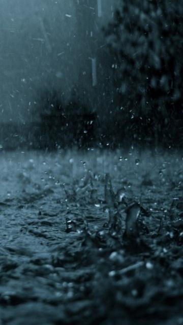 Картинка дождь rain на телефон и смартфон 360x640