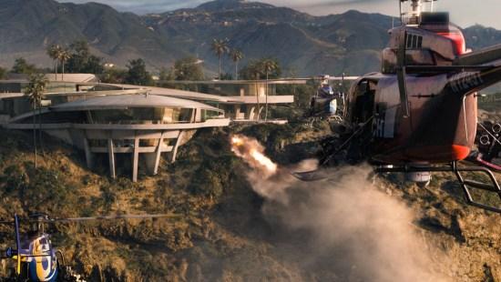 """""""Homem de Ferro 3"""" - Ataque à Mansão Stark"""