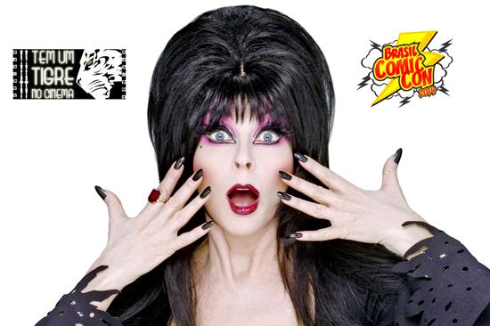 Elvira no Brasil!