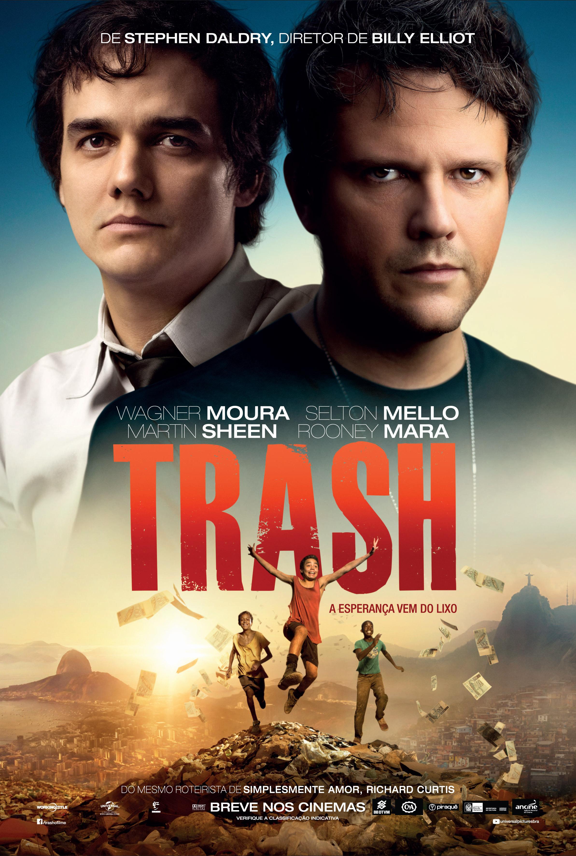 Poster do filme Trash - A Esperança Vem do Lixo