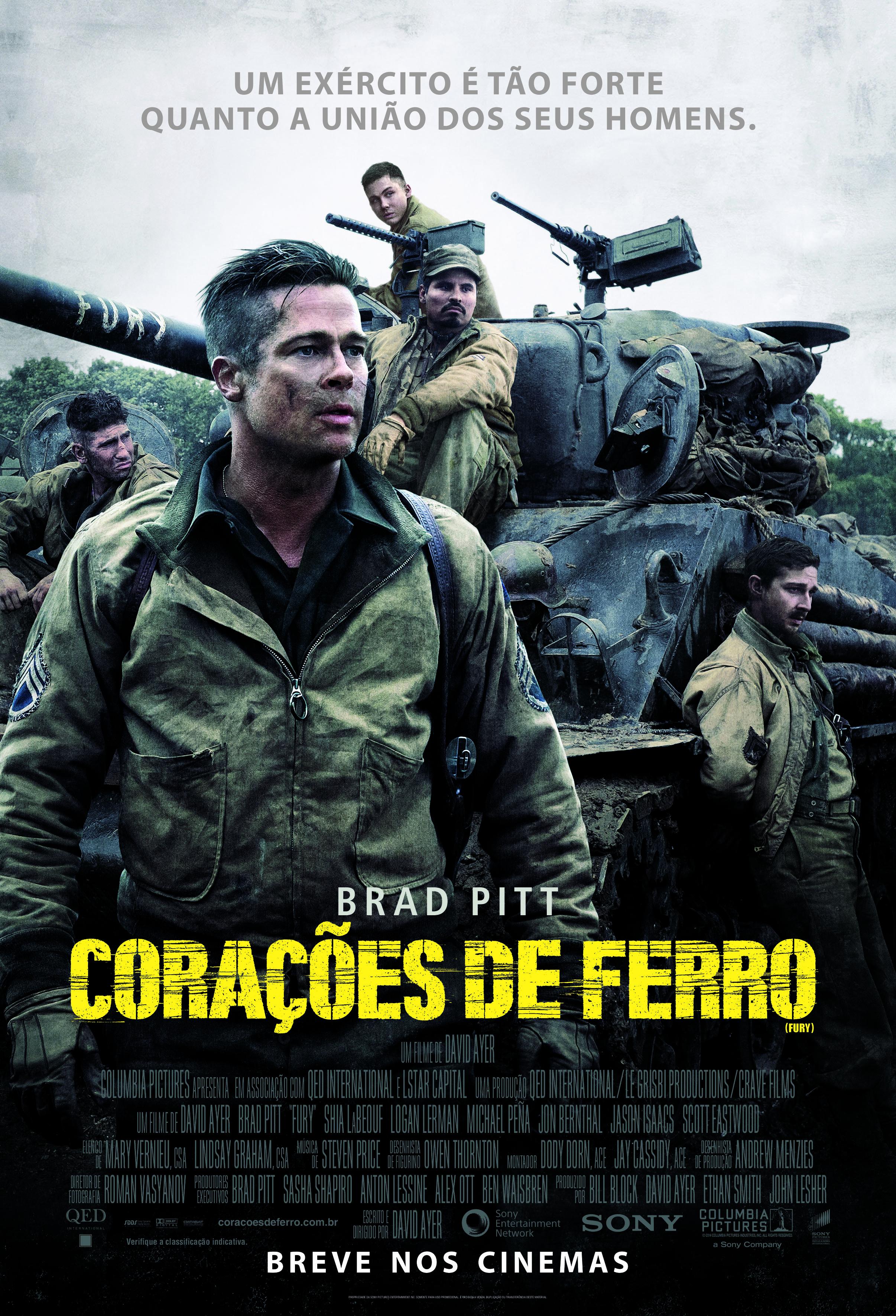 Poster do filme Corações de Ferro