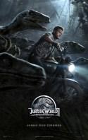 Jurassic World – O Mundo dos Dinossauros | Pôster brasileiro
