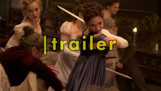 Lena Headey, Lily James e zumbos estampam o trailer de ORGULHO E PRECONCEITO E ZUMBIS