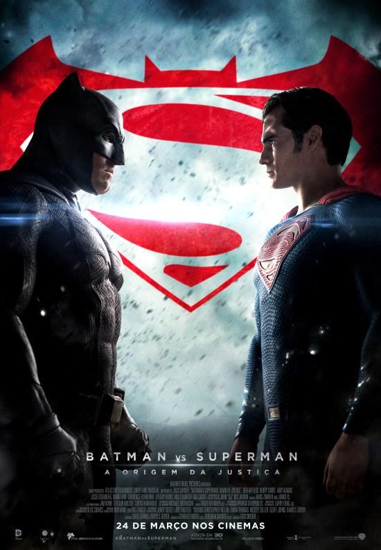 Batman vs Superman: A Origem da Justiça | Pôster brasileiro