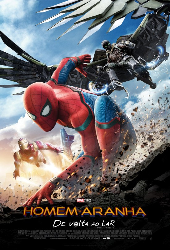 Homem-Aranha: De Volta ao Lar | Cartaz nacional