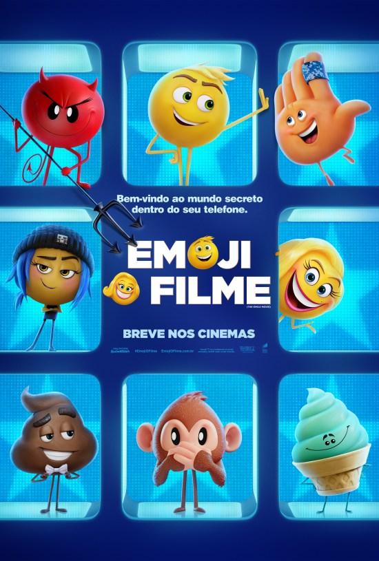 Emoji: O Filme | Pôster Brasil