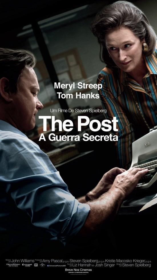 The Post: A Guerra Secreta | Cartaz nacional