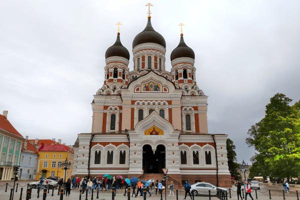Catedral de Alexandre Nevsky - Tallinn - Estônia