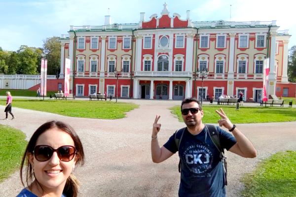 Palácio de Kadriorg - Estônia - Tallinn