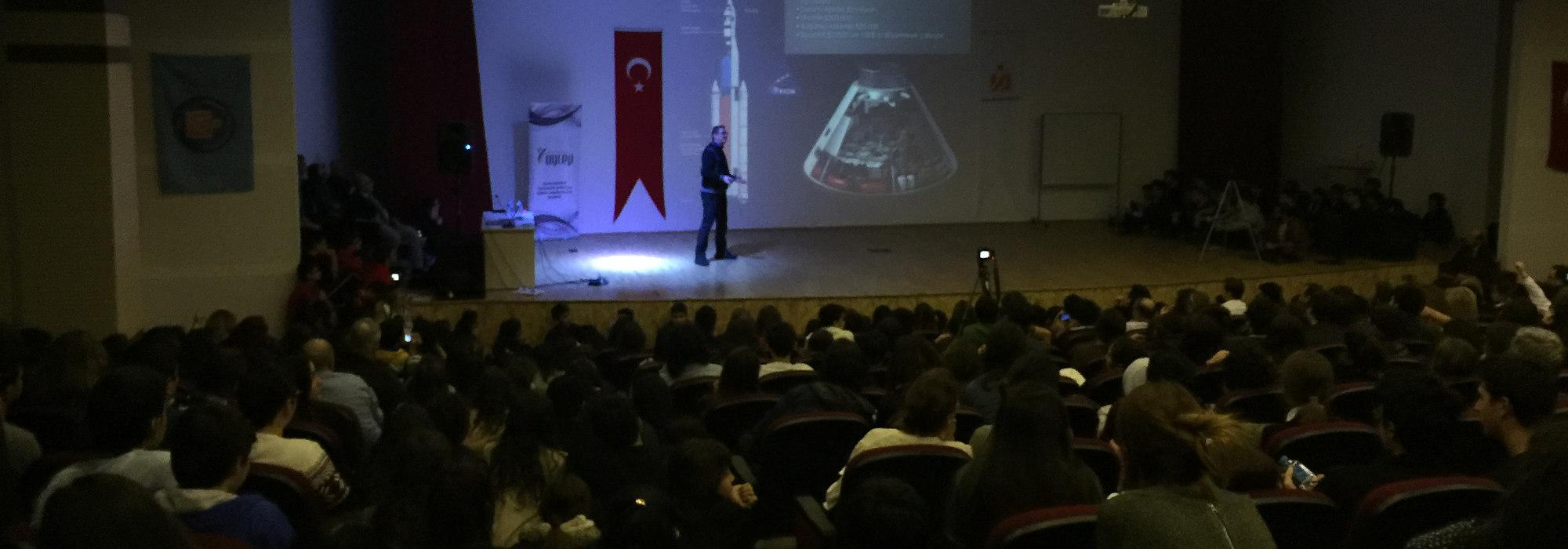 Akdeniz Üniversitesi 2015 Konferansı