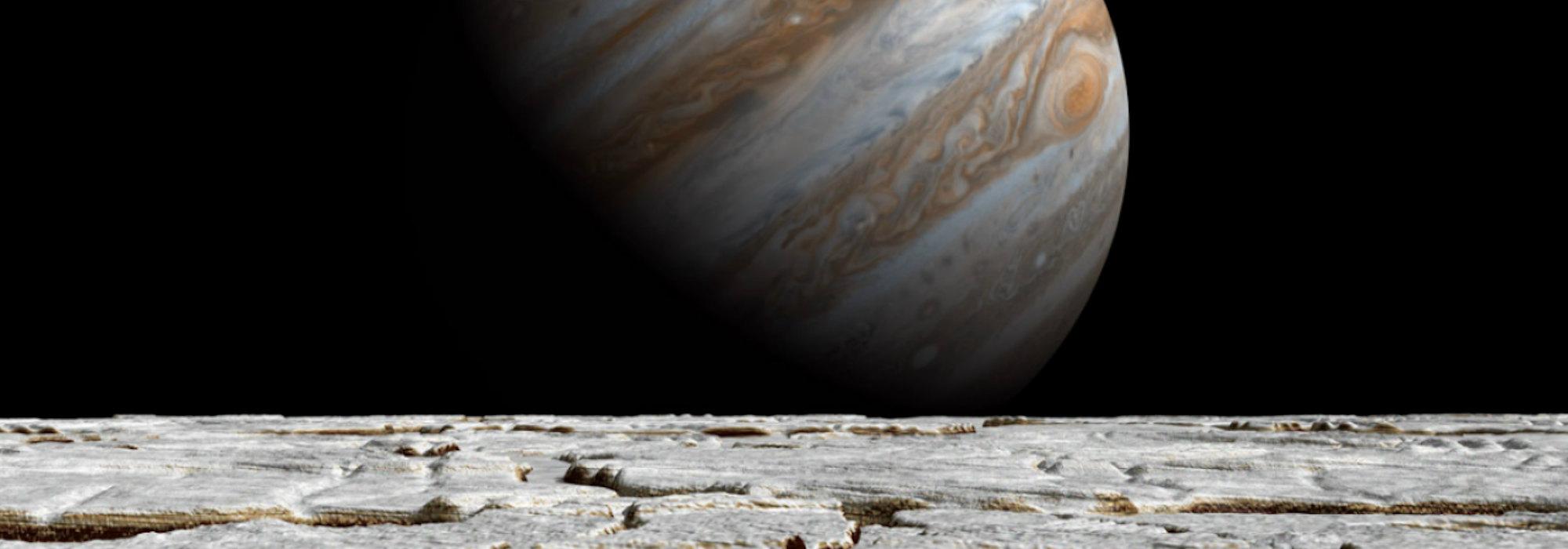NTV | Jüpiter'in uydusunda su püskürmesi