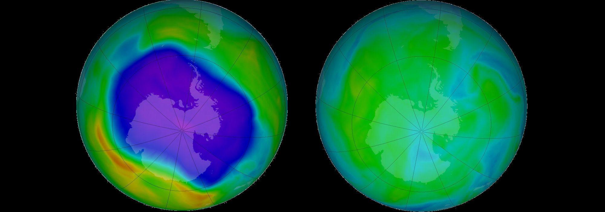 Ozon tabakası deliği küçülüyor