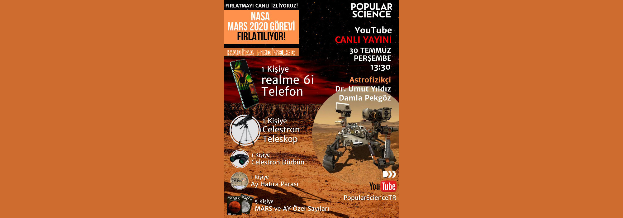 Popular Science Turkiye ve All About Space Turkiye Temmuz 2020