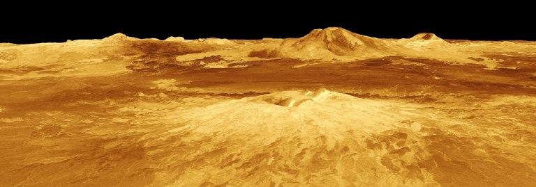 Okyanuslarla kaplı eski Venüs