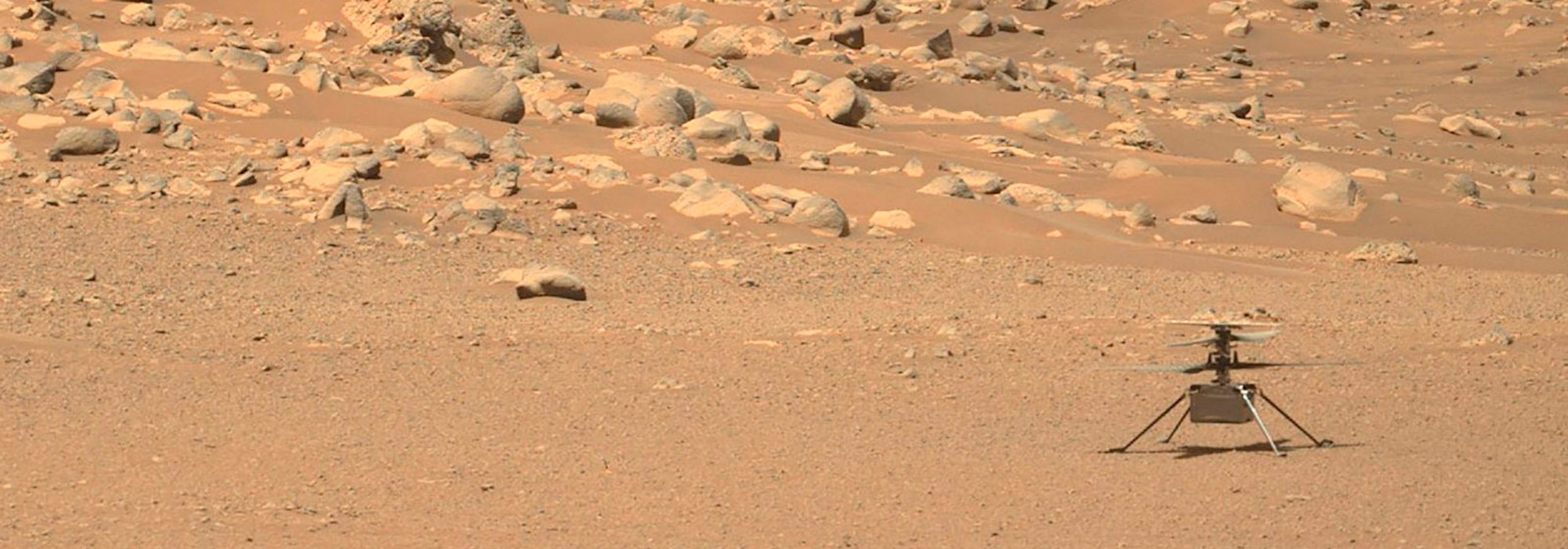 Mars'ta Helikopter Uçurduk