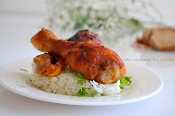 resimli yemek tarifleri,fırında tavuk,oktay usta yemek tarifleri