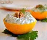 Portakalda,Kereviz Salatası