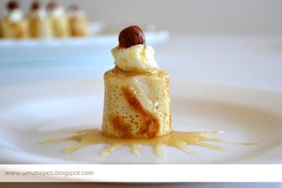 krep tatlısı,krep nasıl yapılır,kaymaklı krep,fındıklı tatlılar,resimli tatlı tarifleri