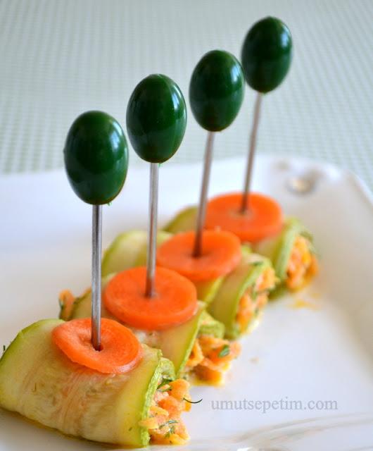 salata tarifleri,havuç salatası,kabaklı salatalar,yoğurtlu salata