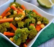Havuçlu Brokoli Salatası