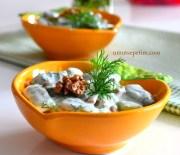 Yoğurtlu  Fasulye Salatası