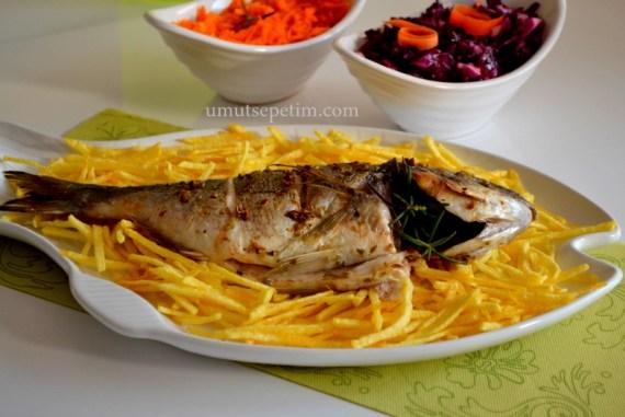 balık yemekleri,çupra tarifi,balık tarifleri,salata tarifleri