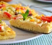 Makarna  Pizza  Tarifi