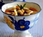 Yoğurtlu  Mantı Çorbası  Tarifi