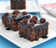 Kahveli Çikolatalı  Kek  Tarifi