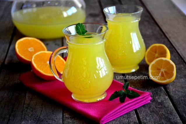 1 Portakal 1 Limon ile 3kg. Limonata Yapalım :)
