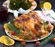 Soslu  Fırın  Tavuk