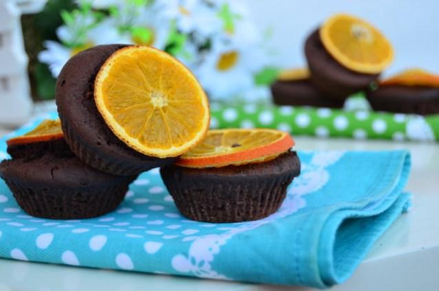 Portakal  Dilimli  Muffin