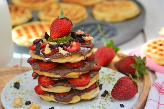 Tavada  Waffle  Tarifi ( Videolu  Anlatım )